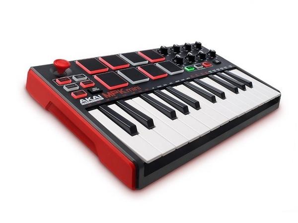 ::bonJOIE:: 美國進口 Akai MPK mini MKII MIDI 二代新版 音樂鍵盤 MPKmini Keyboard Key 控制 電子樂器 MK2
