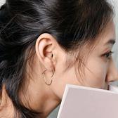純銀氣質 學生韓國耳釘 個性簡約 氣質
