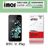【愛瘋潮】HTC U Play  iMOS 3SAS 防潑水 防指紋 疏油疏水 螢幕保護貼