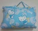 【貝淇小舖】 ~2013 台灣精製 【HELLO KITTY】藍色 標準兒童睡袋~加大款