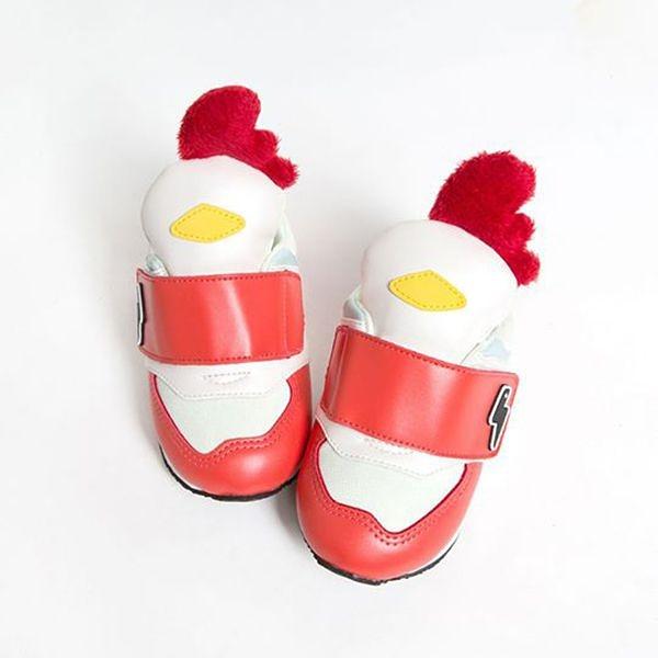 HUGHUG 動物鞋/童鞋/運動鞋 Wild Animal~公雞