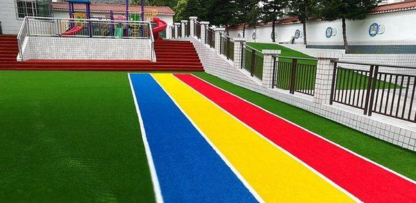 仿真草坪人工草皮人造幼兒園戶外塑料地毯綠色裝飾墊子墻面假草地 玩趣3C