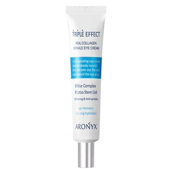 韓國 ARONYX 膠原蛋白抗皺美白保濕眼霜(40ml)【小三美日】