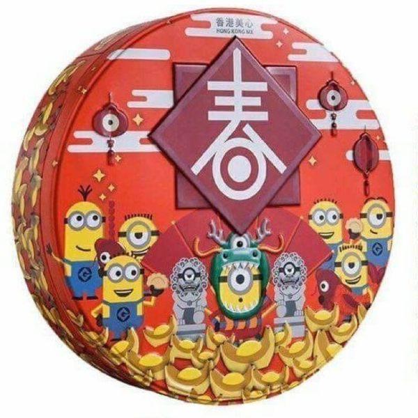 香港美心 X MINIONS 一口榛子條禮盒◎花町愛漂亮◎CE