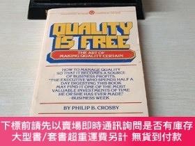 二手書博民逛書店quality罕見is freeY407156 PHILIP B.CROSBY