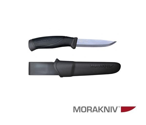 丹大戶外用品【MORAKNIV】瑞典 COMPANION 不鏽鋼直刀 煤炭灰 13215