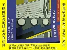 二手書博民逛書店Design罕見Basics 設計基礎Y277357 David A. Lauer Thomson ISBN: