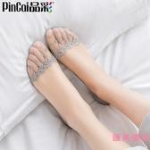 5雙|船襪女薄款短襪硅膠防滑蕾絲淺口隱形襪子【匯美優品】