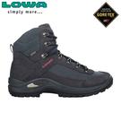 【LOWA 德國 女 TAURUS II GTX MID 中筒多功能健行鞋《海軍藍》】LW320526/登山鞋/中筒靴/徒步鞋