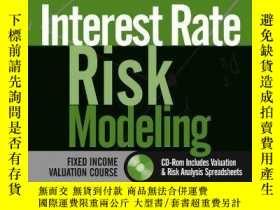 二手書博民逛書店Interest罕見Rate Risk ModelingY256260 Sanjay K. Nawalkha