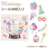 Hamee 日本 Miraneige 水晶球 燙金半透明 造型貼紙 手帳日記DIY (生日派對) 635-210965