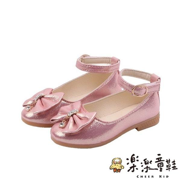 【樂樂童鞋】蝴蝶結公主鞋 S954 - 女童鞋 大童鞋 跳舞鞋 表演鞋 花童鞋 皮鞋 包鞋