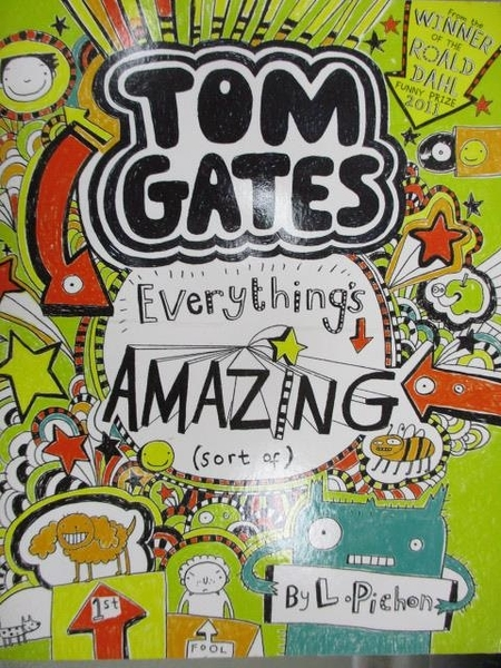 【書寶二手書T1/原文小說_MKA】TOM GATES-Everything s Amazing_Liz