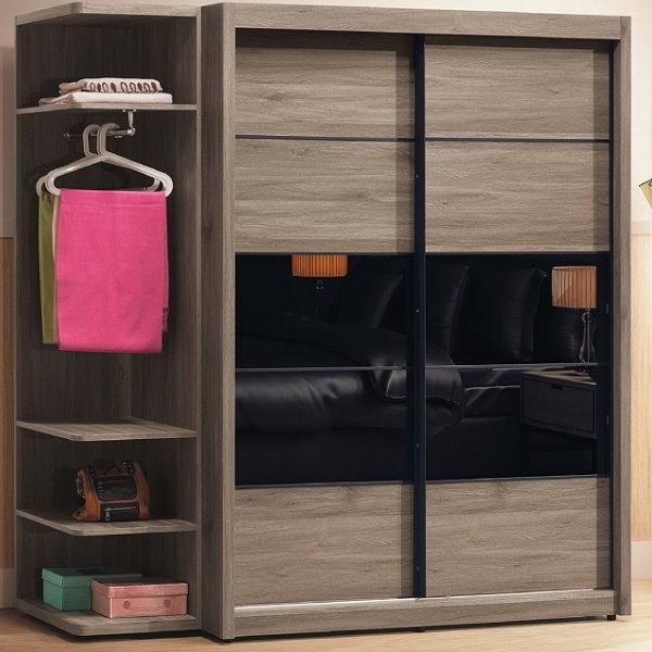 衣櫃 衣櫥 CV-103-10A 肯恩6.6尺衣櫃 【大眾家居舘】