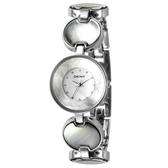 DKNY 魅力光輝時尚腕錶(銀)