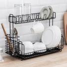 廚房置物整理碗筷碗具收納架家用多層晾碗碗碟架放碗架瀝碗瀝水架 亞斯藍