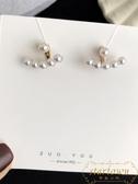 一款兩戴珍珠純銀氣質女耳環耳釘百搭無耳洞耳夾【繁星小鎮】