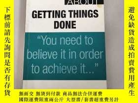 二手書博民逛書店把事情做好的真諦罕見[The Truth About Getting Things Done]原版 庫存Y63