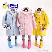 雨衣兒童雨衣寶寶幼兒園小孩子小童小學生男童女童雨披雨具書包位夏款color shop