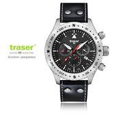瑞士Traser Aviator Jungmann飛行員錶-(公司貨)#100 384 /分期零利率