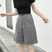中大尺碼五分褲韓版女夏季韓版學生風短褲子中褲 nm4600 【Pink 中大尺碼】