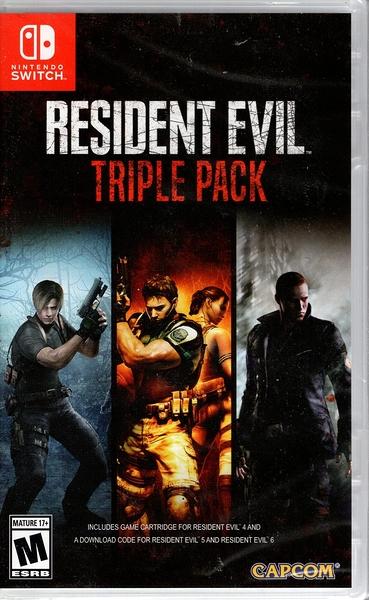 【玩樂小熊】現貨中 Switch遊戲 NS 惡靈古堡 三重包4+5+6 Resident Evil 中文美版