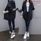 韓版寬鬆短外套女中長款棒球服 衣普菈