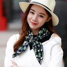 小方巾女 韓國裝飾文藝春秋空姐絲巾 職業領巾百搭秋季裝飾包包圍巾 店慶降價
