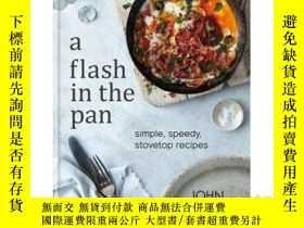 二手書博民逛書店A罕見Flash in the Pan: Speedy Stov