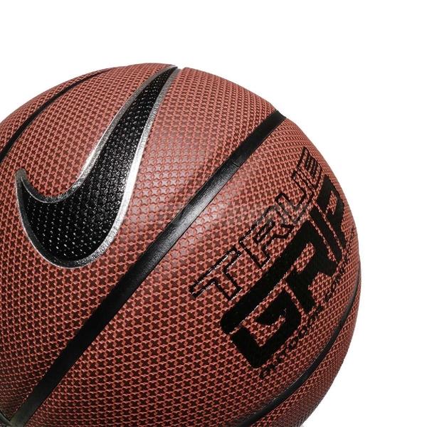 Nike 籃球 True Grip 棕 黑 標準7號球 室內外 PU材質 耐磨 【ACS】 NKI0785-507