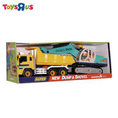 卡車&挖土機組 玩具反斗城