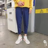 牛仔褲 - 牛仔褲男寬松流百搭情侶男褲子帥t【韓衣舍】