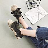 豆豆鞋女百搭學生原宿平底懶人社會鞋子單鞋夏 愛麗絲精品