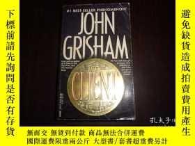 二手書博民逛書店THE罕見CLIENT,JOHN GRISHAMY19865 出