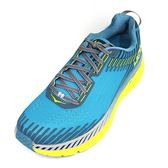 HOKAONEONE 男慢跑鞋 Clifton 5 (綠黃) 輕量穩定超緩震跑鞋 HO1093755CSSB【 胖媛的店 】