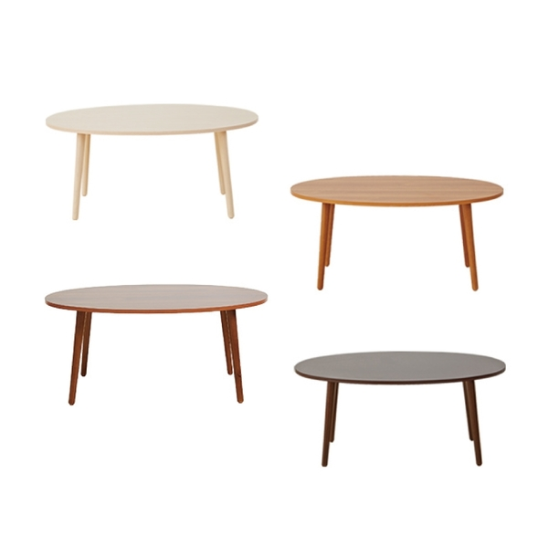 【班尼斯國際名床】~日本熱賣‧Gold-egg黃金蛋-隨手桌茶几‧天然實木椅腳