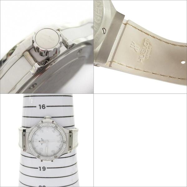 HUBLOT 宇舶 BIG BANG 鑲鑽石英機芯腕錶 【BRAND OFF】