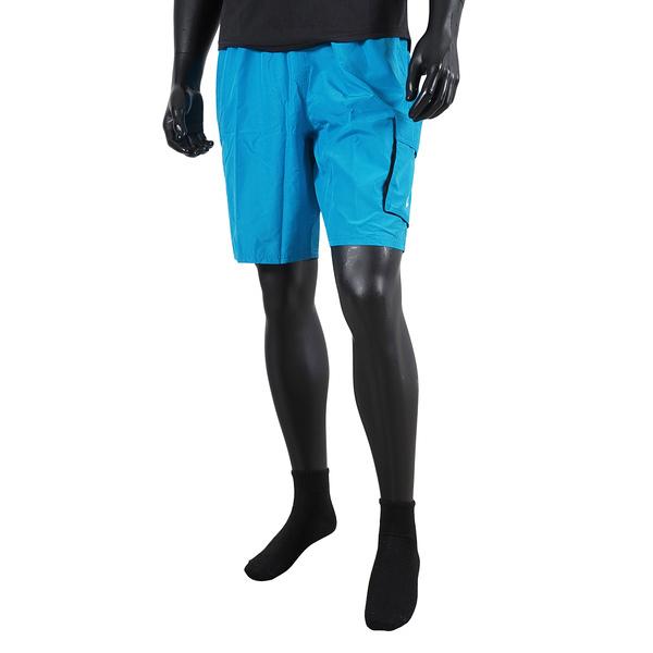 Nike Solid [NESSB521-406] 男 短褲 九吋 海灘褲 運動 休閒 快乾 透氣 內裏褲 口袋 藍