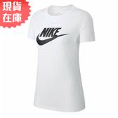 【現貨在庫】Nike Sportswear Essential 女裝 短袖 T恤 休閒 純棉 白 【運動世界】 BV6170-100