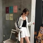 韓版寬松長袖衛衣外套休閒運動女【橘社小鎮】