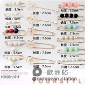 胸針/韓國珍珠胸針外套別針開衫毛衣西裝胸花女絲巾扣披肩創意百搭配飾