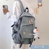 雙肩包 書包女韓版原宿高中大學生背包風森繫日繫初中生雙肩包 快速出貨
