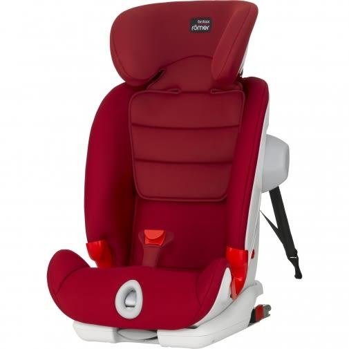 Britax 百變旗艦型ISO成長型汽車安全座椅/汽座-紅色BX01015[衛立兒生活館]