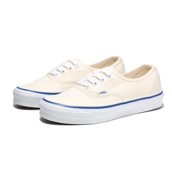 VANS 休閒鞋 VAULT 系列 OG AUTHENTIC LX 米白藍線 男女 (布魯克林) VN0A4BV90RD