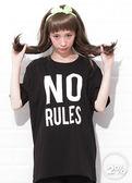 新品2%  2% NO RULES T恤-黑   優惠商品