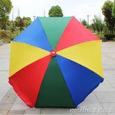 2M米定制圓形戶外遮陽傘側邊室外庭院傘擺地攤4雨傘大的扇號超大igo 美芭