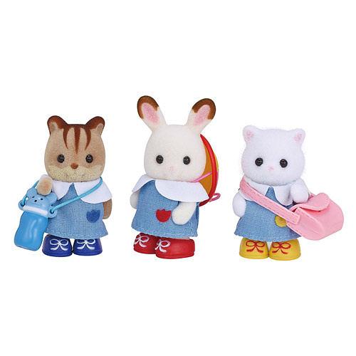 《 森林家族 - 日版 》幼稚園人偶組 / JOYBUS玩具百貨