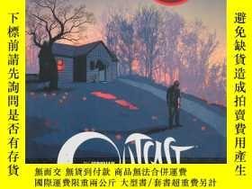 二手書博民逛書店Outcast罕見by Kirkman & Azaceta: Darkness Surrounds HimY1