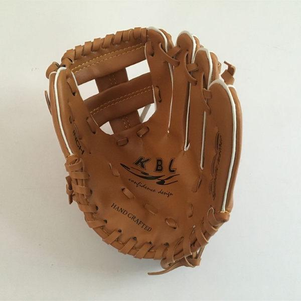 練習用棒球手套分指小手套小朋友棒球入門手套左手9英寸