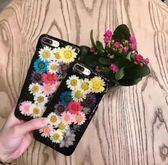 iPhone 7/8  6 plus 滴膠 手機保護套 創意 小雛菊 手機殼